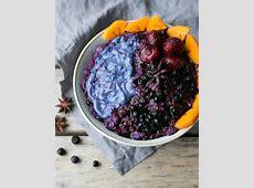 creamy quinoa with blueberries  vegan_image