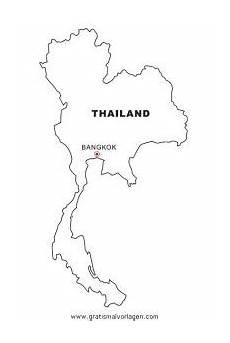 Quallen Malvorlagen Thailand Thailand Gratis Malvorlage In Geografie Landkarten Ausmalen