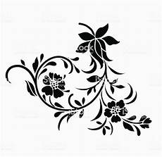 flower motif for design stock illustration