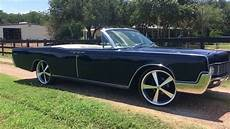1967 Lincoln Continental Startup Convertible Ridetech P