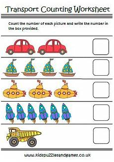 vehicles worksheet for preschool 15244 transport puzzles and
