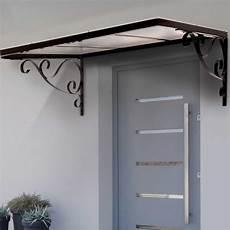 auvent marquise de porte en fer design r 233 tro 80x150 cm