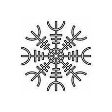 vegvisir der magische kompass wikingern runen