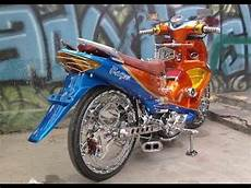 Modifikasi Motor Smash 2007 by Tm2 Modifikasi Motor Suzuki Smash Paling Keren