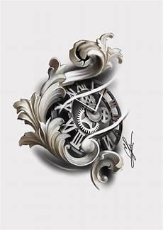 uhr t 228 towierungen taschenuhr tattoos und