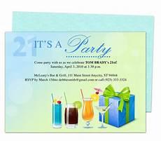 coolers 21st birthday invitation templates printable
