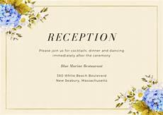 wedding reception card templates customize 442 wedding reception card templates canva