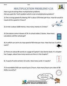 multiplication worksheet word problems 4677 multiplication word problems 4th grade