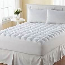 pillow top mattress topper queen size bed cover protector pad comfort bedding ebay