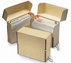 tan truecore fliptop document box letter style vertical