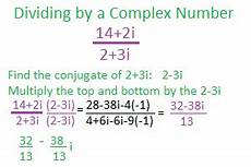 using the standard form for complex numbers study com