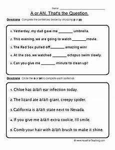 a an article worksheet by have fun teaching tpt