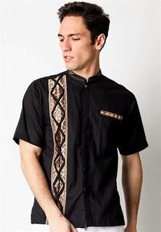 kemeja muslim lengan pendek modern terbaru fashionmuslim99