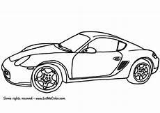 Porsche Zum Ausmalen - ausmalbilder autos porsche cayman autos ausmalbilder