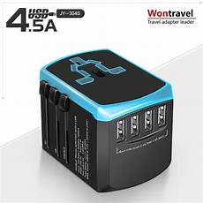 Universal L Power Travel Charger Standard by Powstro Travel Adapter Universal Power Adapter Charger