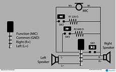 3 Pin 3 5mm Wiring Diagram by Stereo Headphone Pinout With Wiring Diagram Also 3 5