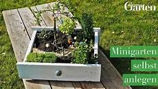 Bastelanleitung Minigarten Selbst Anlegen