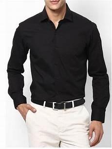 jual kemeja pria kemeja hitam polos kemeja kerja hitam shirt di lapak ets etsjaya123