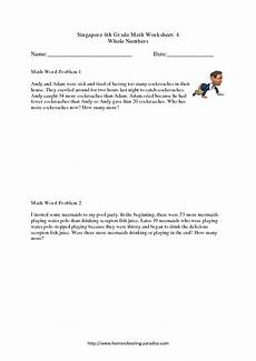 math word problems worksheets all operations 11364 singapore 4th grade math worksheet 4 whole numbers word problems worksheet for 4th 5th grade