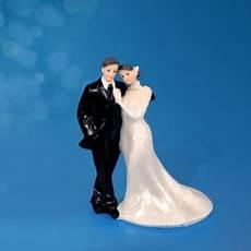 figurine mariage personnalisé figurine de mari 233 s quot t 234 te 224 t 234 te quot pour g 226 teau de mariage