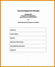 7 acknowledgement receipt of payment template sales template