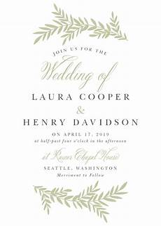 Basic Wedding Invitation Wording