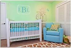 Kinderzimmer Streichen Blau - gender neutral unisex nursery design ideas