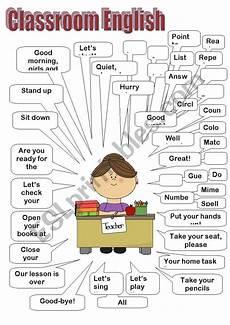 classroom english teacher esl worksheet by natalyshka