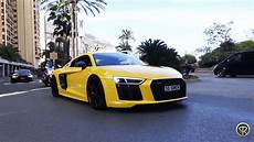 audi r8 v10 plus lovely exhaust sounds