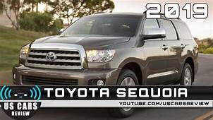 2019 TOYOTA SEQUOIA Review Redesign Interior Release Date