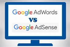 differences between adwords and adsense web design company