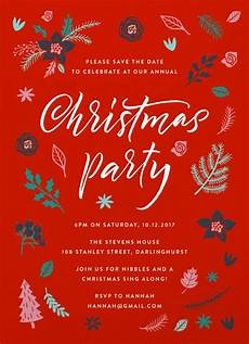 merry little chri dp christmas party invitations