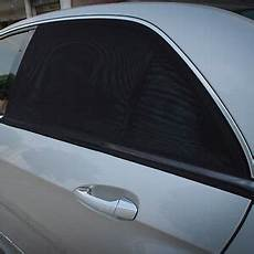 Car Rear Window Sun Shade Blocker Pair By Tfy
