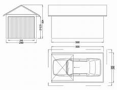dimension garage 2 places garage m 233 tallique 2 pentes cr 233 pis 1 porte fourniture