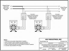 phase converter wiring diagram 3 phase rotary converter wiring diagram
