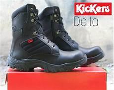 jual sepatu boots kickers safety kulit asli di lapak dona saragih maradonasrg