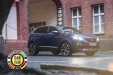 Peugeot 3008 Wird Car Of The Year 2017 Peugeot News