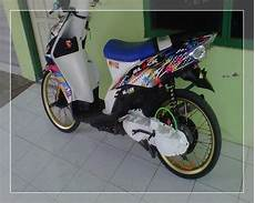 Modifikasi Motor Mio Sporty Simple by Foto Modifikasi Motor Mio Soul Gt J Sporty Road Race