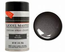 testors master auto black metallic enamel spray