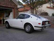 Sell Used 1972 Datsun 240z White With Red Interior In El