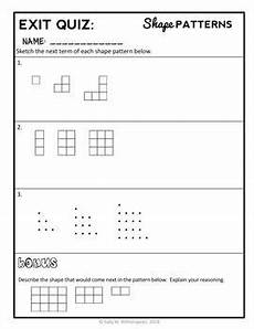 worksheets on shapes and patterns for grade 5 517 geometric patterns lesson 4th grade shape patterns lesson packet 4 oa 5 math patterns