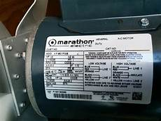 i have a marathon electric motor 1 3 hp i m trying to understand a couple of things 1 line