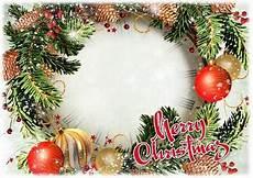 greeting photo frame psd merry christmas transparent png frame psd layered photo frame