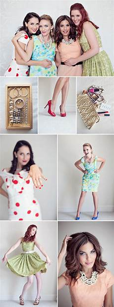 bachelorette weekend vintage fashion and beauty inspiration junebug weddings