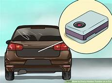 how to find a tracker on a car 12 steps with