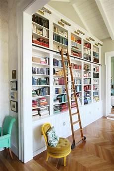 Bücherwand Mit Leiter - b 252 cherwand leiter deutsche dekor 2019 wohnkultur