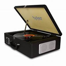 Vintage Vinyl Record Player Stereo Turntable by Bluetooth Briefcase Vinyl Record Player Classic