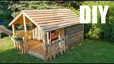 Kleines Haus Aus Holz Bauen - spielhaus gartenhaus f 252 r kinder selber bauen aus