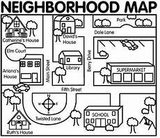 neighborhood map for map dictation activity eld unit integration community helpers