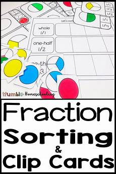 fraction worksheets primary resources 4069 fraction worksheets and clip cards fraction activities math fractions preschool learning